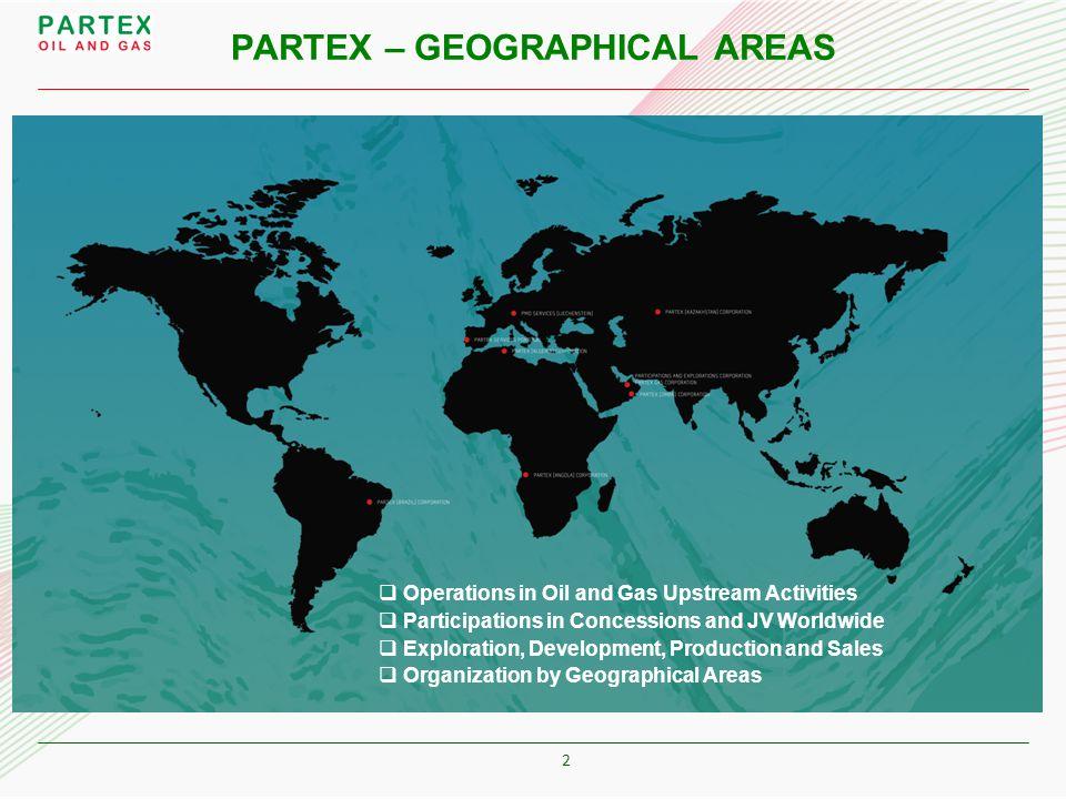3 MIDDLE EAST PARTEX OIL AND GAS (HOLDINGS) CORPORATION PMOS PARTEX SERVICES PORTUGAL KAZAKHSTAN PARTEX (KAZAKHSTAN) CORP (DUNGA) – onshore Oil production ALGERIA PARTEX (ALGERIA) CORPORATION (AHNET) – tight Gas development ANGOLA PARTEX (ANGOLA) CORP (BLOCK 17/06) – deep offshore pre-development BRAZIL PARTEX (BRAZIL) CORPORATION (COLIBRI) - onshore Oil production (CARDEAL) – onshore Oil production (BM-S-10) – deep offshore expl (SEAL-9) – offhore expl OMAN PARTEX (OMAN) CORPORATION (PDO) – onshore Oil production (OLNG/QLNG) – LNG production (MUKHAIZNA) – heavy Oil production UAE PARTICIPATIONS & EXPLORATIONS CORPORATION (ADCO) - onshore Oil production PARTEX GAS CORPORATION (GASCO) – LPG & Nafta production PORTUGAL PARTEX (IBERIA) CORP (PENICHE ) – deep offshore expl (ALGARVE) – Gas offshore expl