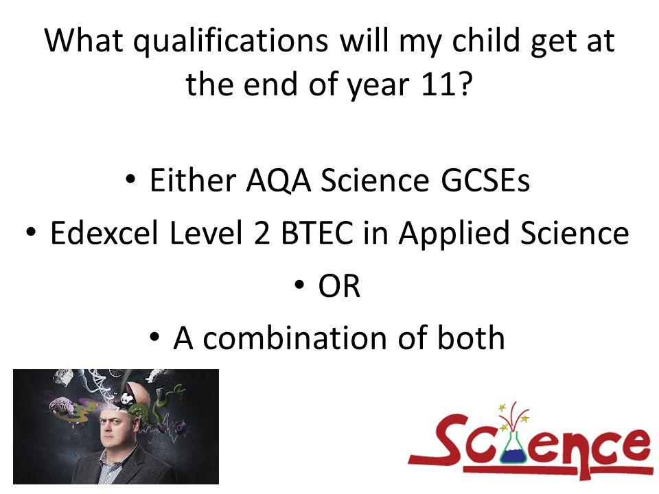 Gcse Btec Science Question?