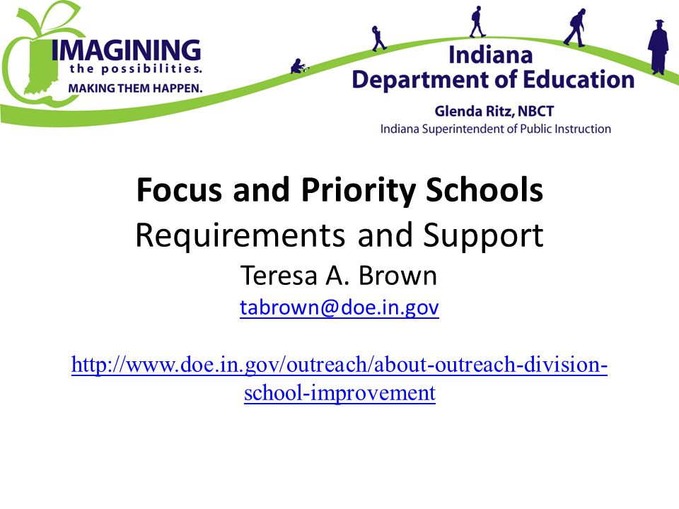 Reviewing: Expectations and Support Priority Schools Analyze Data, Identify Primary Areas of Improvement (minimum three)Specific Interventions, Align Interventions to all Turnaround Principles and Create Student Achievement Plan Complete Student Achievement Plan by February 1 Participate in Two Monitoring Visits Spring 2014 Collaborate with Outreach Coordinators to Identify Needs and Secure Resources to Assist Improvement