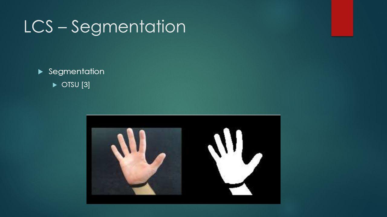 Contour Identification  Hand Contour Identification