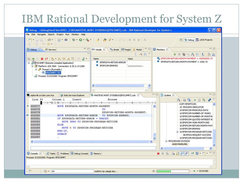 IBM Rational Development for System Z