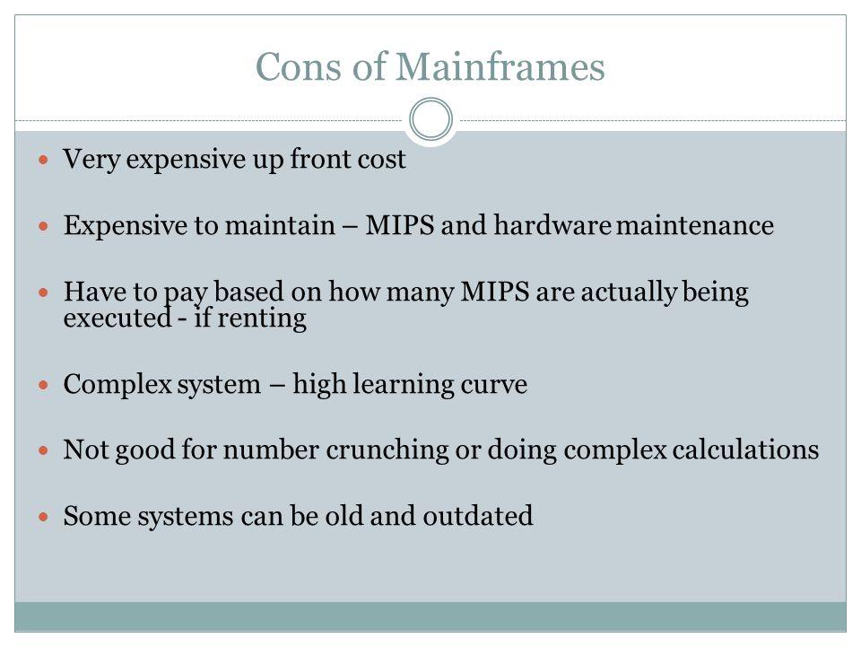 Why are mainframes still around.