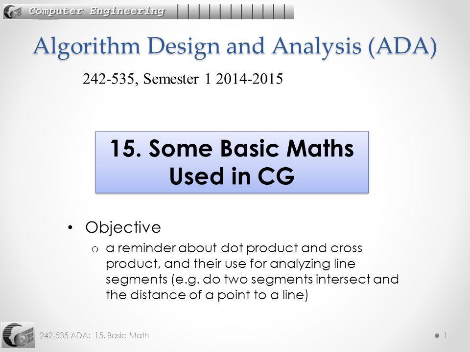 242-535 ADA: 15. Basic Math12 Angle Example