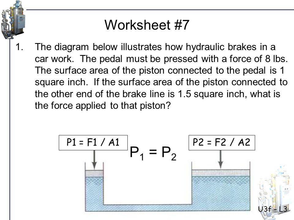 U3f – L3 Worksheet #7 Solution: Step 1: Write given information P1 = ?P2 = .