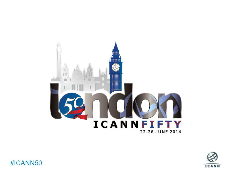 Text #ICANN50