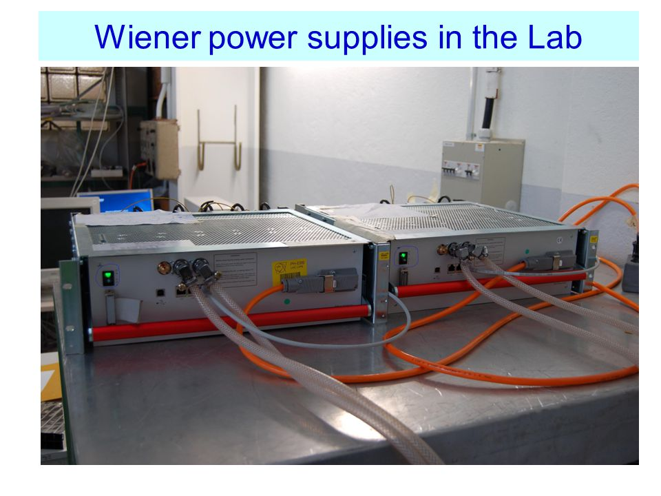Wiener power supplies in the Lab