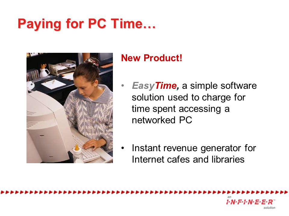 Paying for PC Time… New Product.