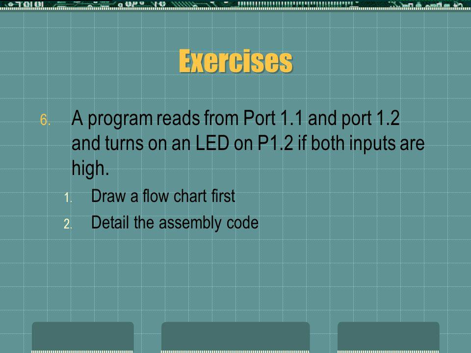 Exercises 6.