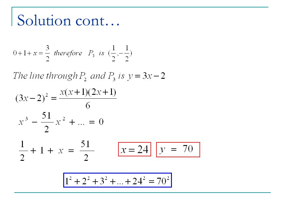 Solution cont…