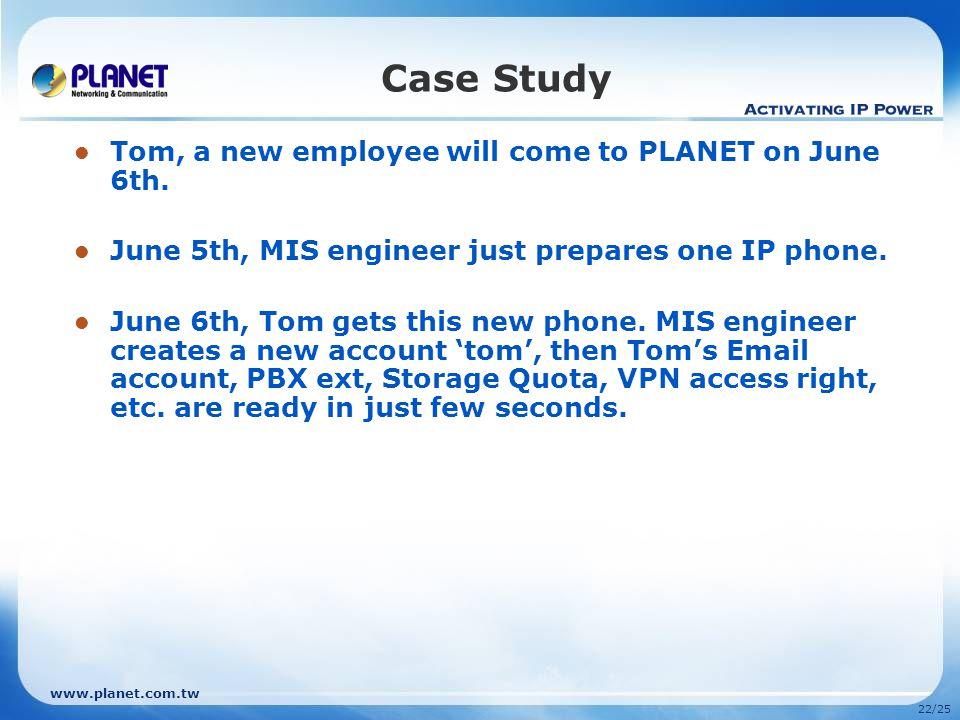 www.planet.com.tw 21/25 Appendix Related Product  IP Phone VIP-254T / VIP-254PT / VIP-255PT / VIP-351PT
