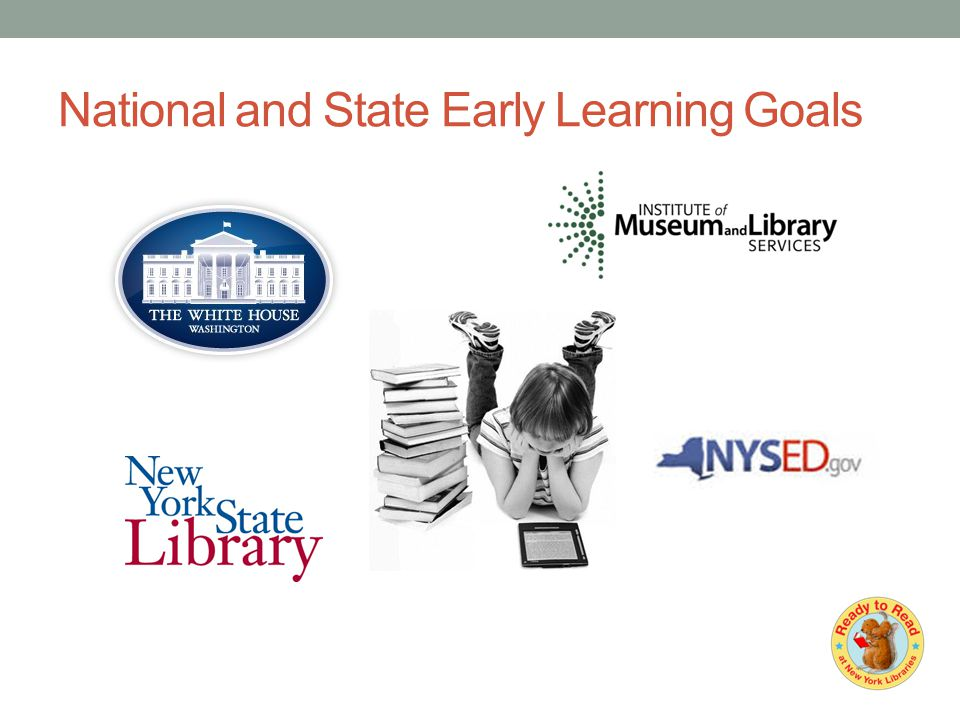 National and State Early Learning Goals