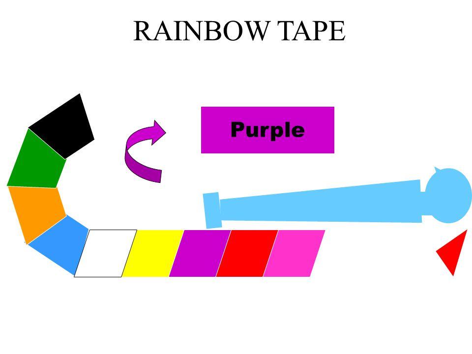 RAINBOW TAPE Purple DRUGS and EQUIPMENT