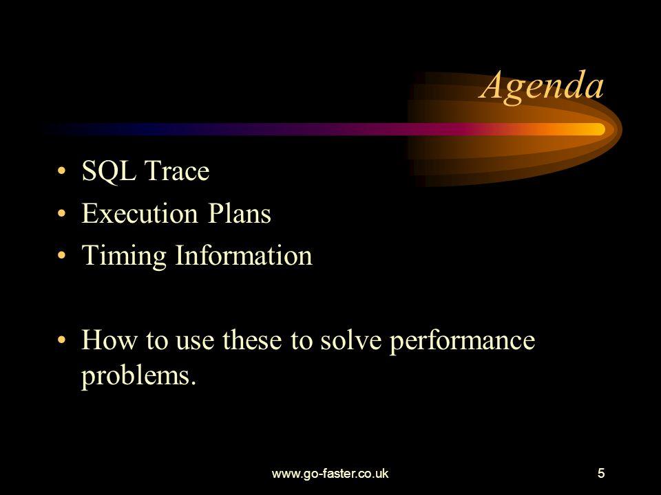 www.go-faster.co.uk66 Example 4: Idle wait.