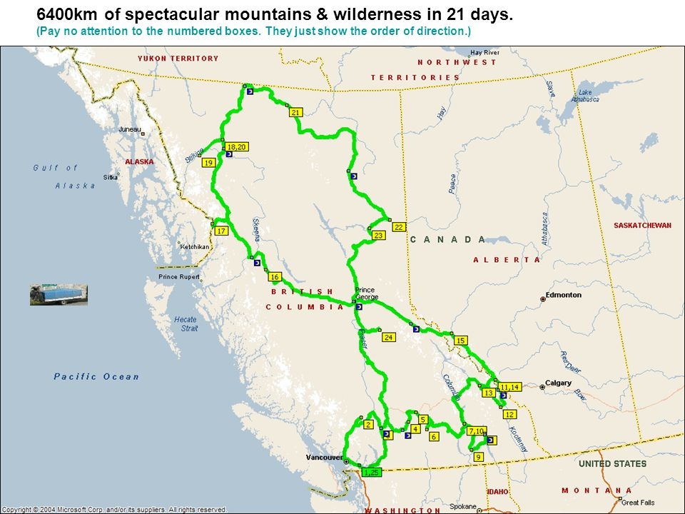 Day 15 - Dease Lake (400km 5.5hrs) You will likely see a bear We are now in the true wilderness.