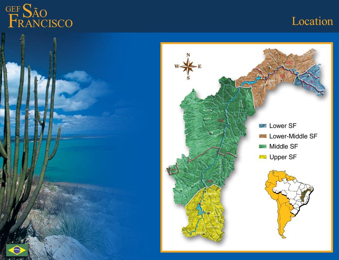 GEF S ÃO F RANCISCO São Francisco Project Operational Structure P2GEF São Francisco ACTIVITIES S1 S2 S3...