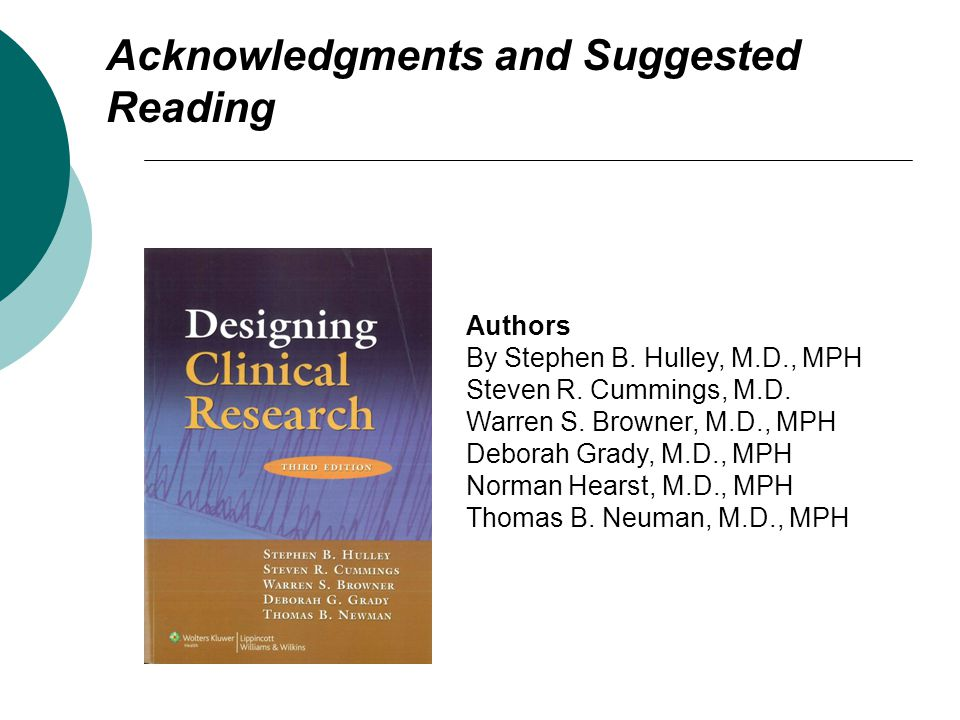 Acknowledgments and Suggested Reading Authors By Stephen B.
