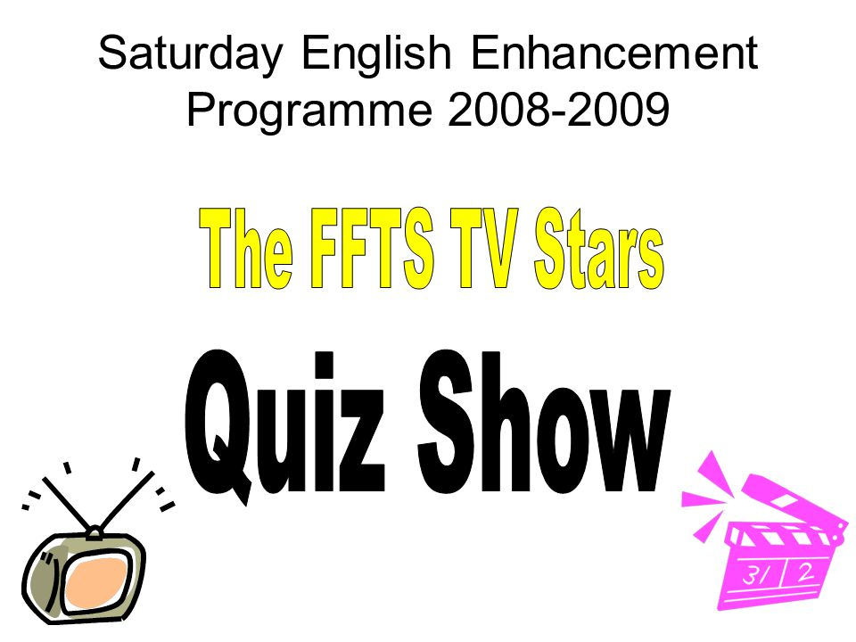Saturday English Enhancement Programme