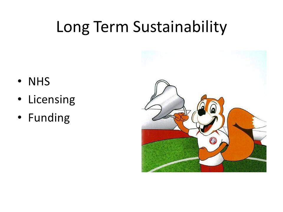 Long Term Sustainability NHS Licensing Funding