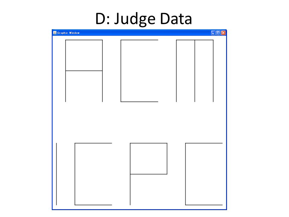 D: Judge Data