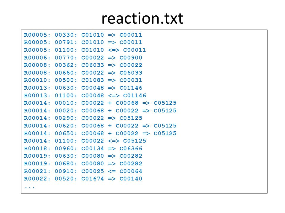 genome.txt ENTRY T00001 Complete Genome NAME hin, H.influenzae, HAEIN, 71421 DEFINITION Haemophilus influenzae Rd KW20 (serotype d) ANNOTATION manual TAXONOMY TAX:71421 LINEAGE Bacteria; Proteobacteria; Gammaproteobacteria; Pasteurellales; Pasteurellaceae; Haemophilus DATA_SOURCE RefSeq ORIGINAL_DB JCVI-CMR DISEASE Meningitis, septicemia, otitis media, sinusitis and chronic bronchitis CHROMOSOME Circular SEQUENCE RS:NC_000907 LENGTH 1830138 STATISTICS Number of nucleotides: 1830138 Number of protein genes: 1657 Number of RNA genes: 81 REFERENCE PMID:7542800 AUTHORS Fleischmann RD, et al.