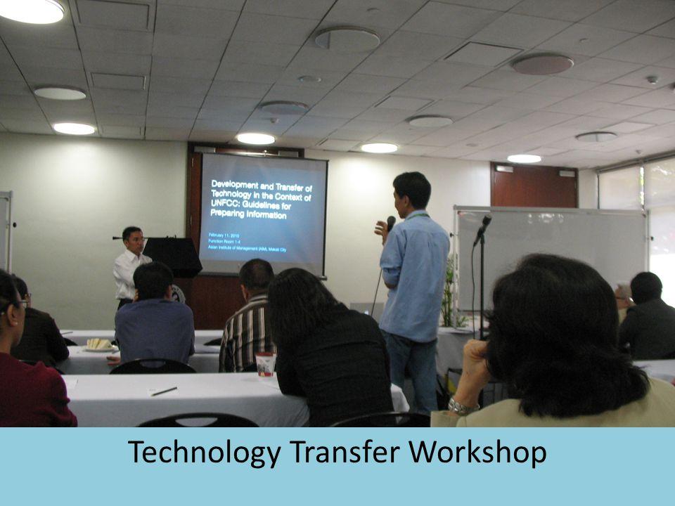 Technology Transfer Workshop