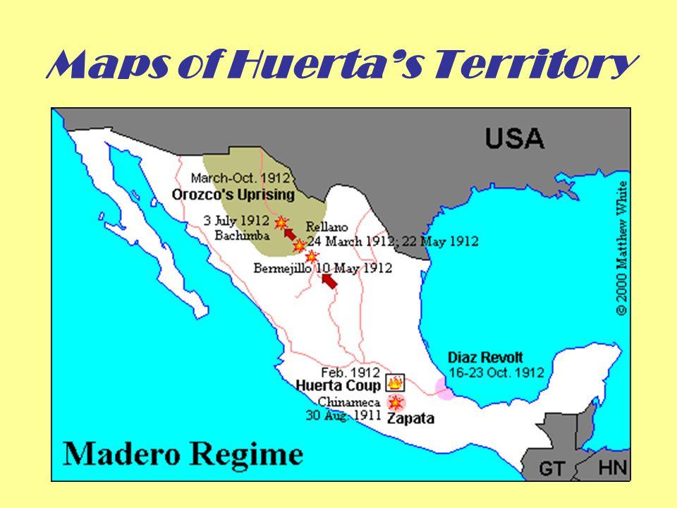 Maps of Huerta's Territory