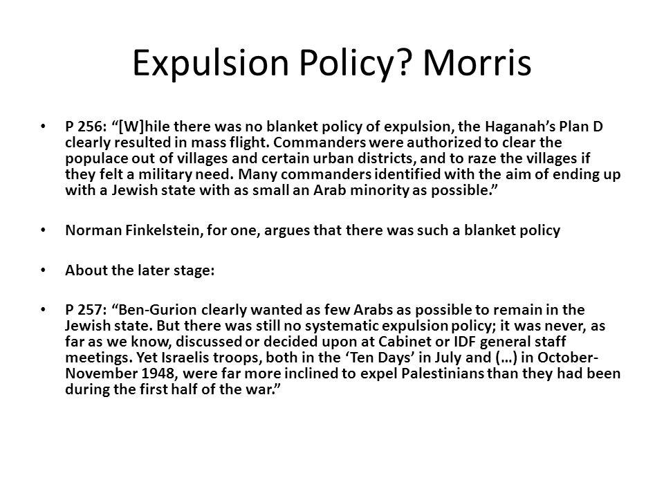 Expulsion Policy.