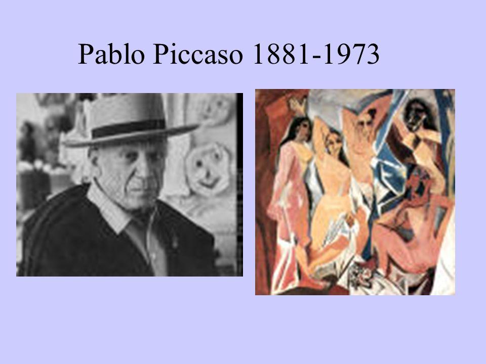 Pablo Piccaso 1881-1973