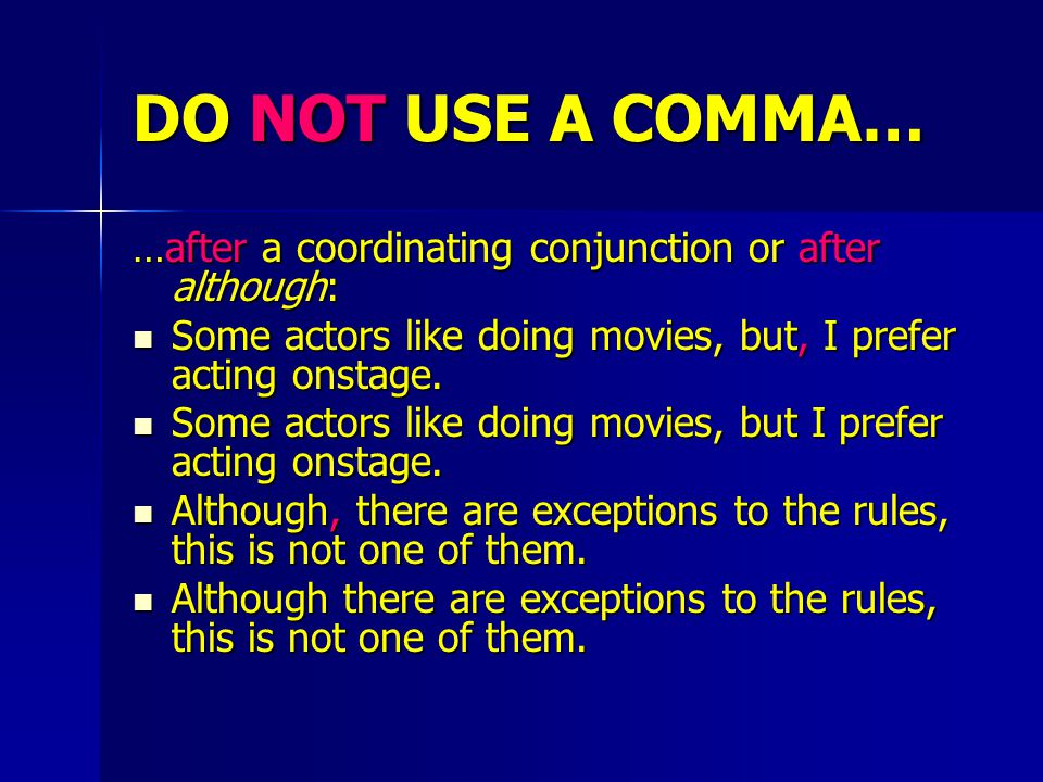 DO NOT USE A COMMA… …with a question mark or an exclamation point: You're not going in there, are you? , she asked in disbelief.