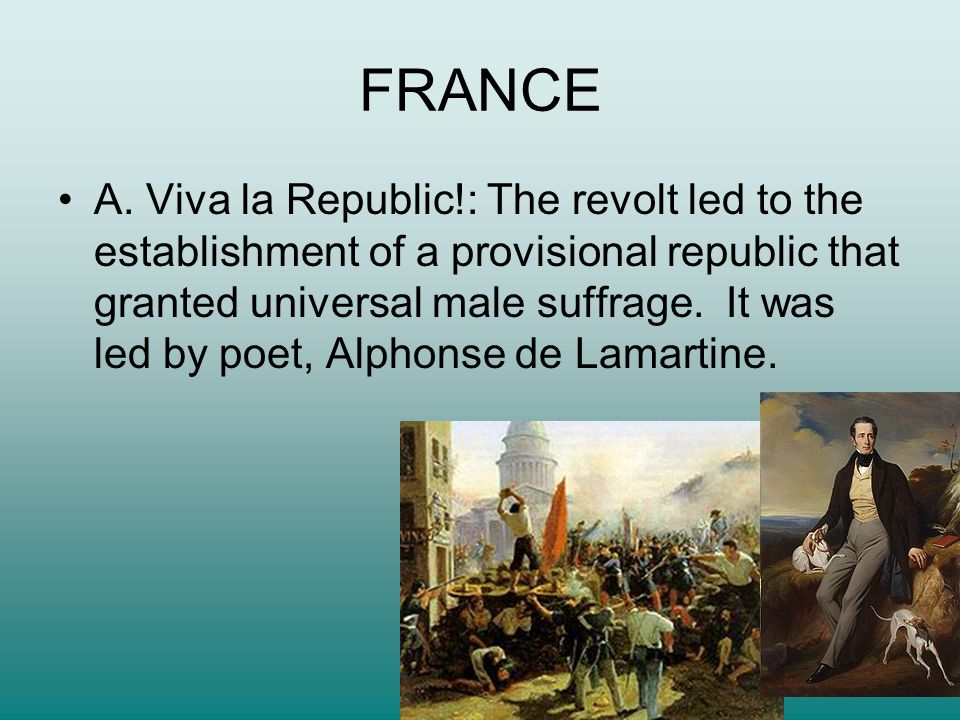FRANCE B.Strange Bedfellows: The revolutionary coalition could not agree on a common program.