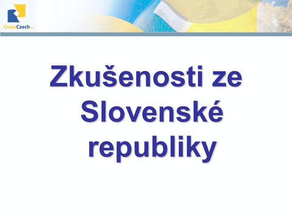 Zkušenosti ze Slovenské republiky