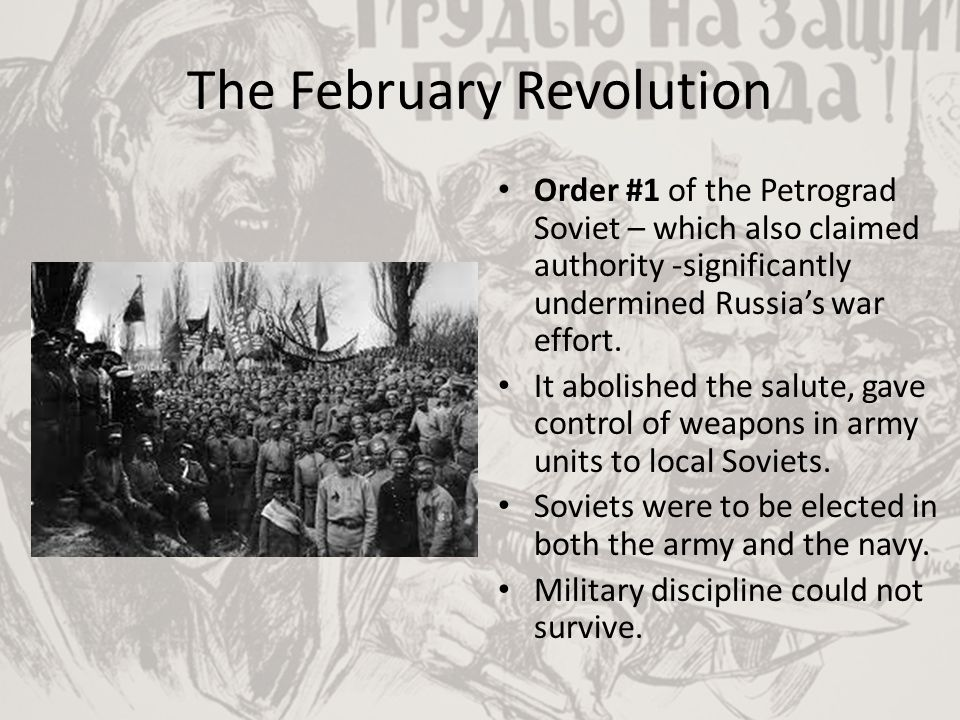 The October Revolution The Bolseviks ruled indirectly through the All Russian Congress of Soviets.