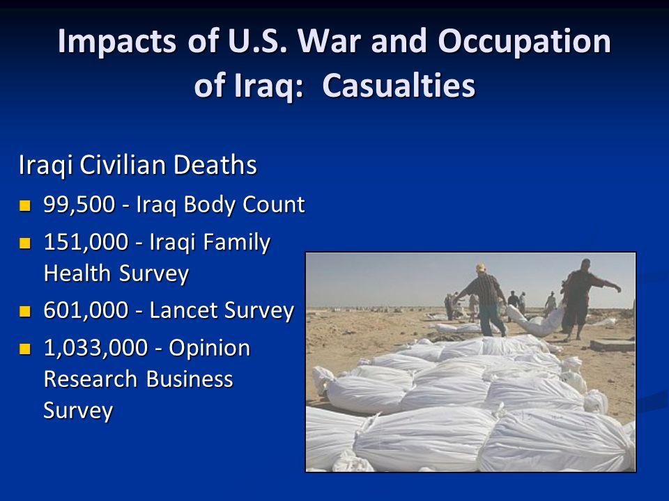 Impacts of U.S.