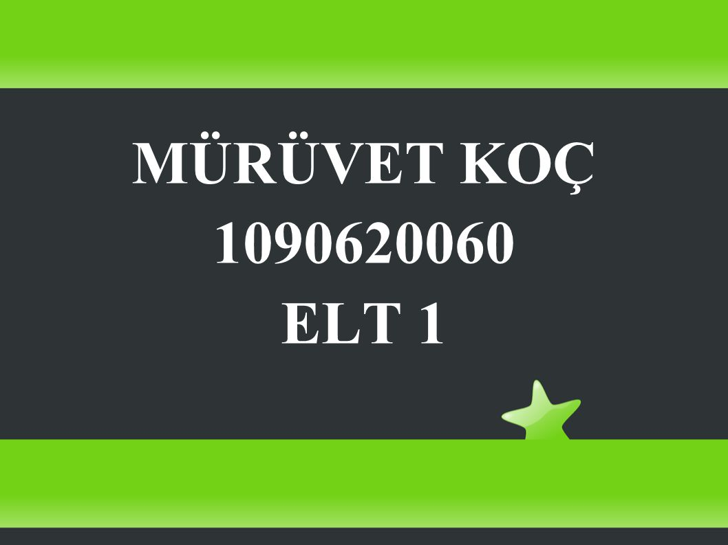 MÜRÜVET KOÇ 1090620060 ELT 1