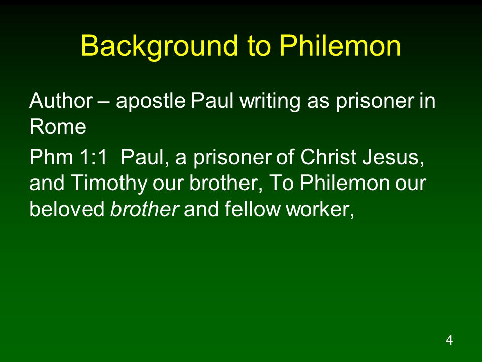 15 Paul's Humble Loving Attitude In Appealing To Philemon Phm 1:19 I, Paul, am writing this with my own hand, I will repay it (not to mention to you that you owe to me even your own self as well).