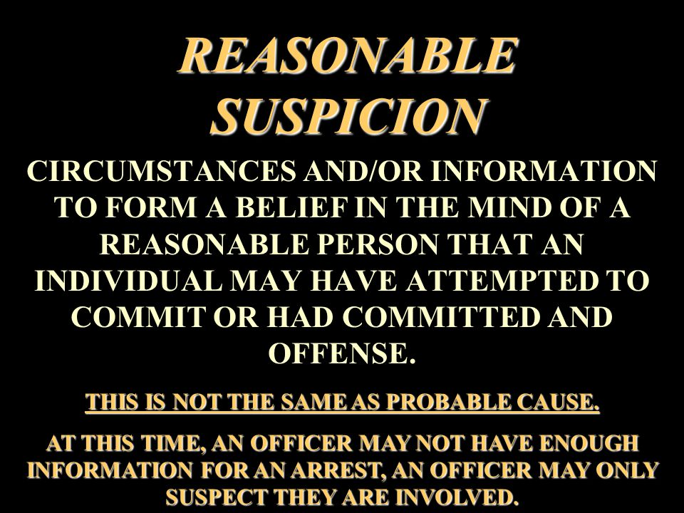 REASONS TO INITIATE A PURSUIT WHEN AN OFFICER HAS ARTICULATABLE REASONABLE SUSPICION TO BELIEVE THAT AN OPERATOR AND/OR PASSENGER(S), IN A VEHICLE, WAS ATTEMPTING TO COMMIT OR HAS COMMITTED ONE OF THE OFFENSES LISTED IN APPENDIX A