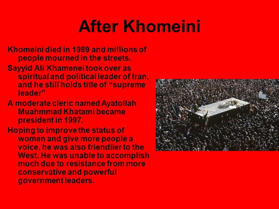 Today In 2005, Moahmoud Ahmadinejad, the former mayor of Tehran, won the presidency.