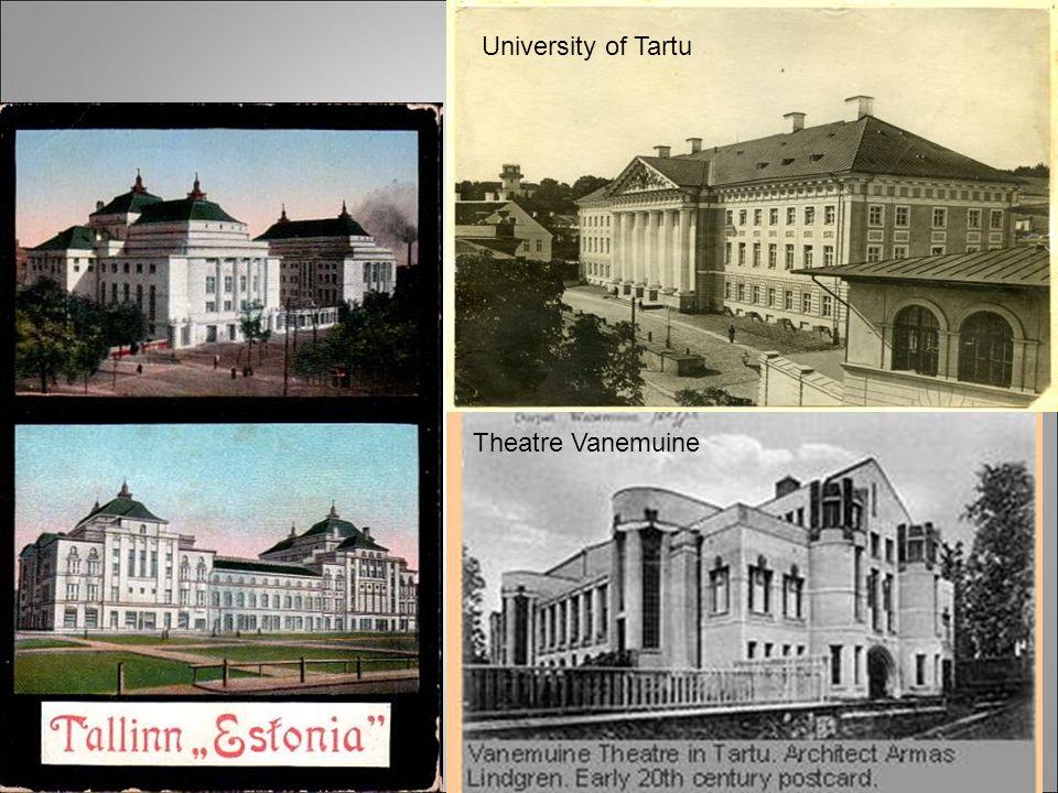 University of Tartu Theatre Vanemuine