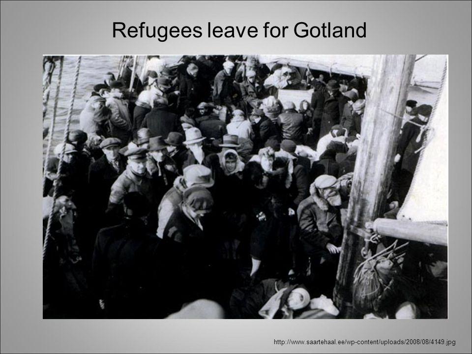 http://www.saartehaal.ee/wp-content/uploads/2008/08/4149.jpg Refugees leave for Gotland
