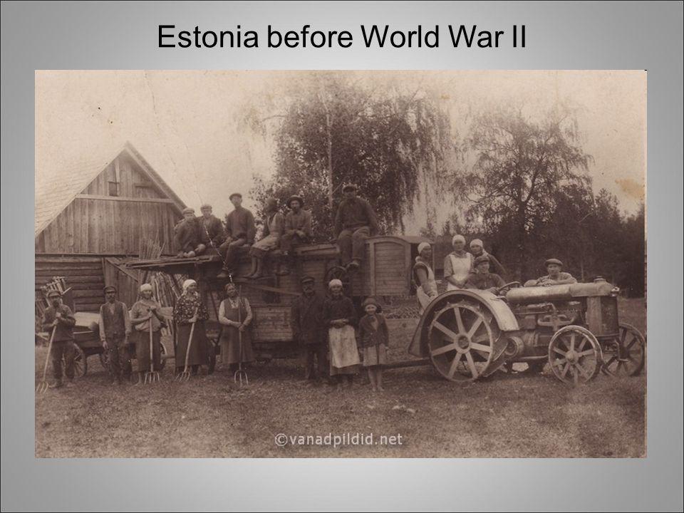 Estonia before World War II