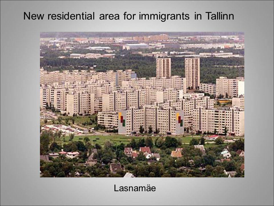 New residential area for immigrants in Tallinn Lasnamäe