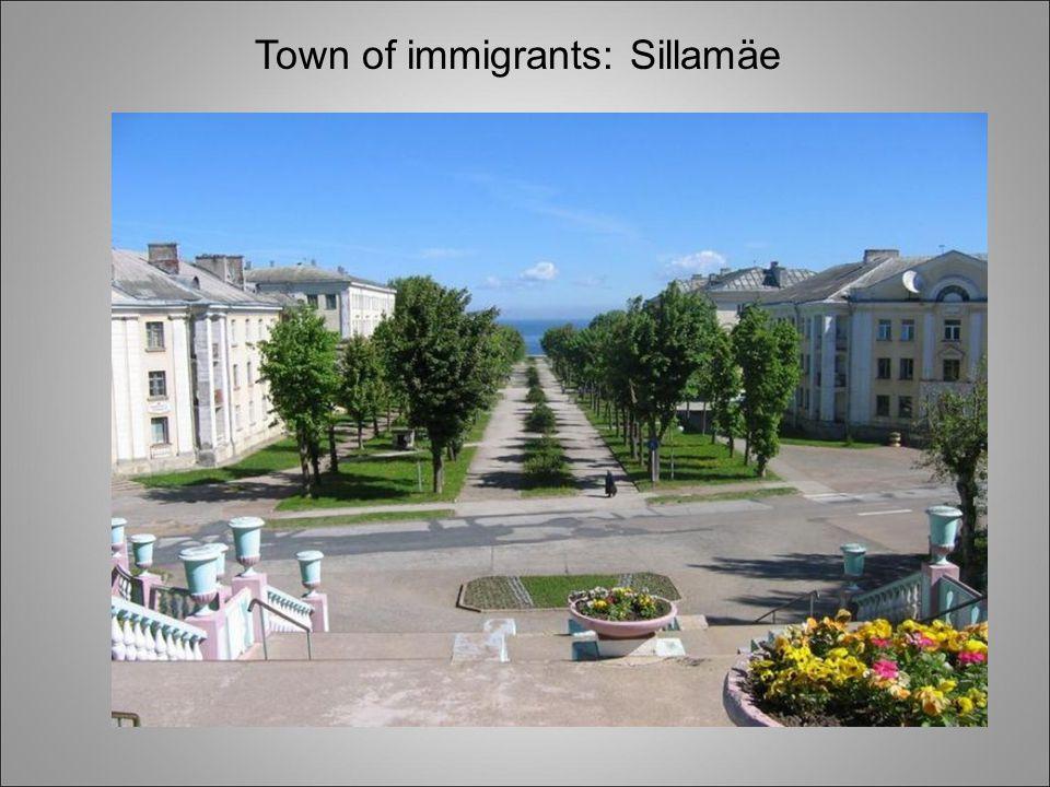 Town of immigrants: Sillamäe