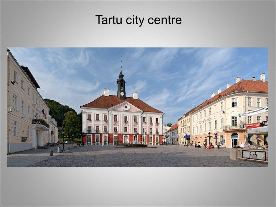 Tartu city centre
