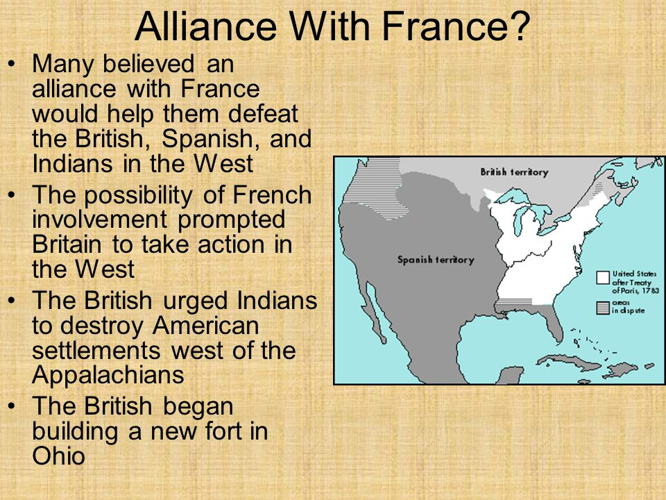 Alliance With France.