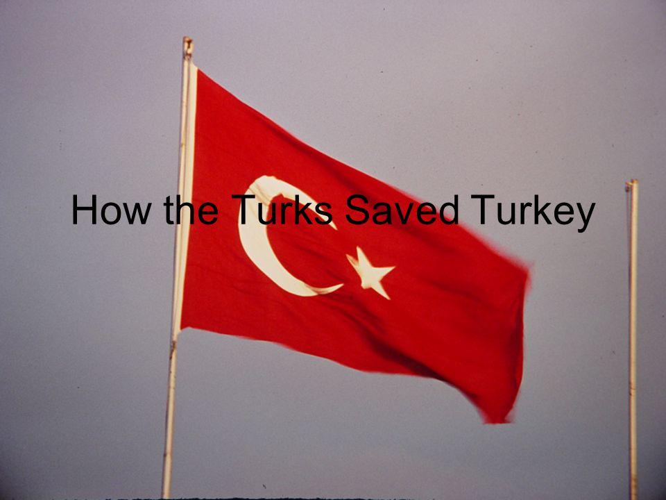 How the Turks Saved Turkey