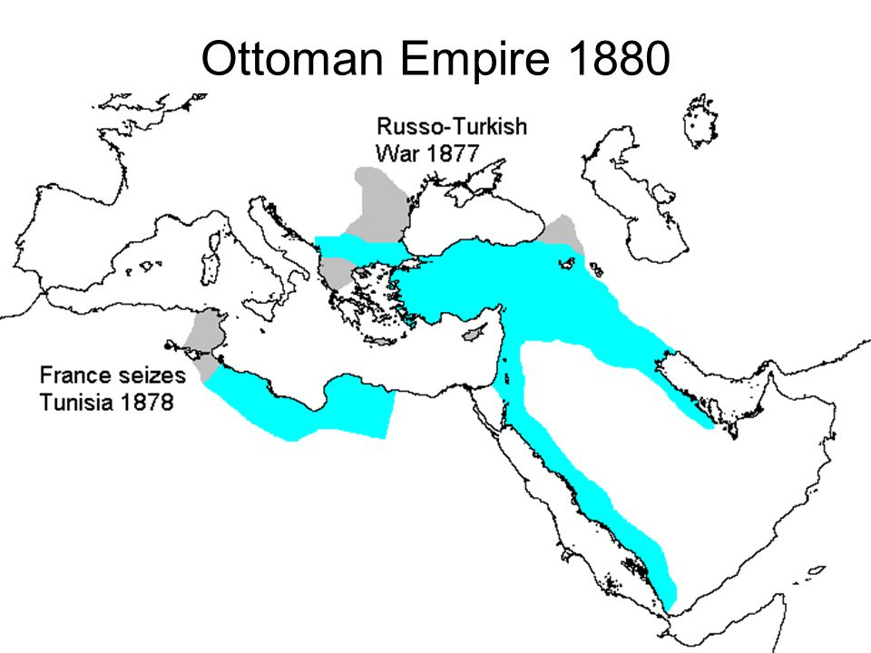 Ottoman Empire 1880
