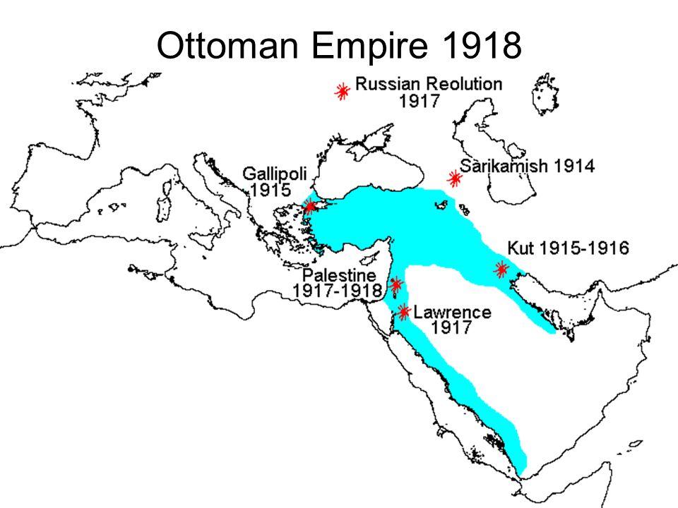 Ottoman Empire 1918