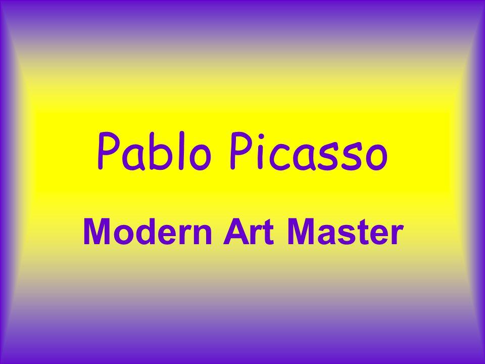 Pablo Picasso Modern Art Master