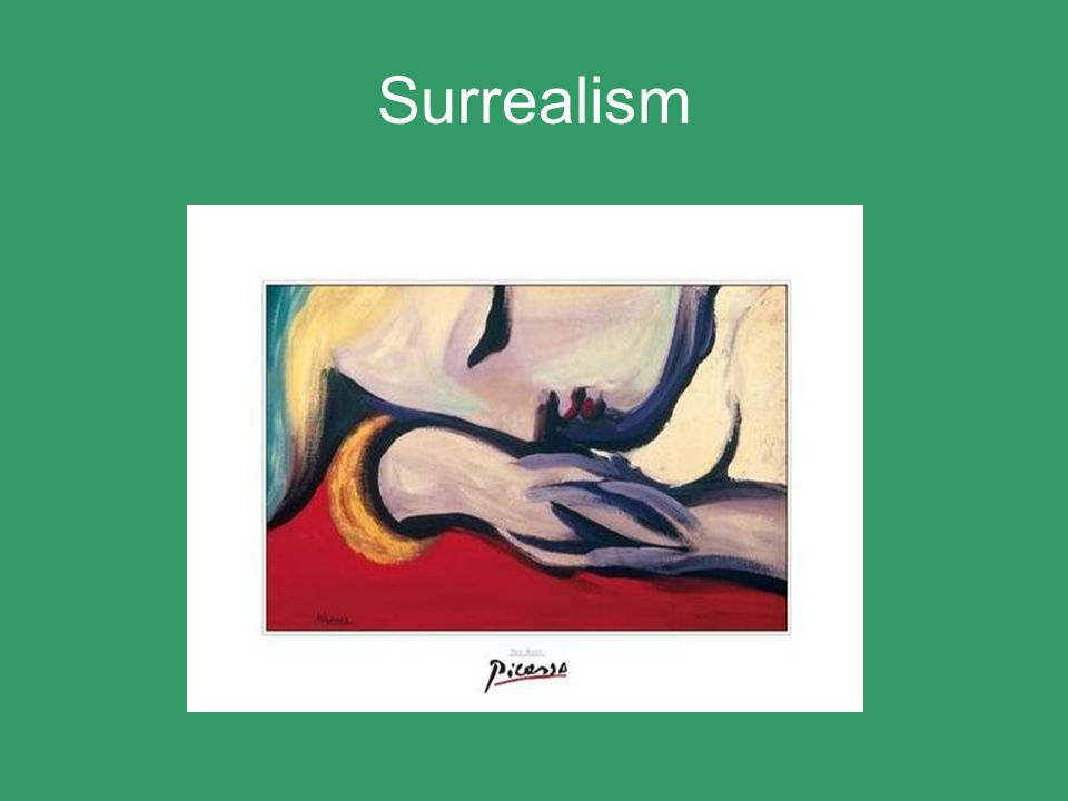 Surrealism 1925-1934 In 1925 Picasso became closely involved with a group of artists known as the Surrealists.