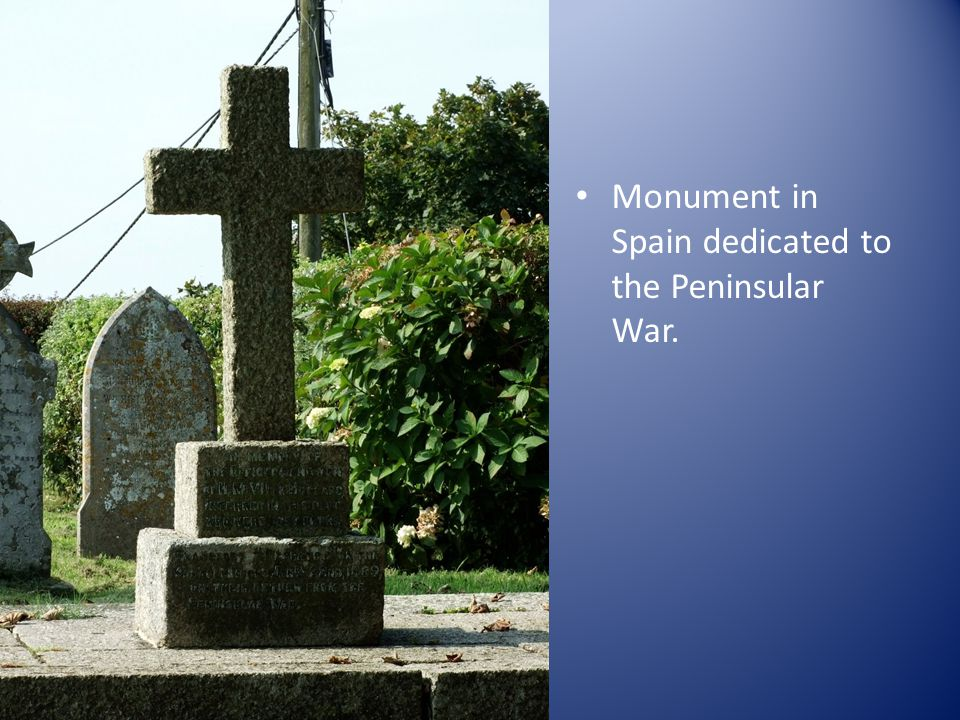 Monument in Spain dedicated to the Peninsular War.
